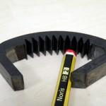 Trinquete en chapa 355J2G3 espesor 12 mm. Carbonitrurado posterior