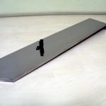 Llanta en acero inoxidable esp. 10 mm. Pulido espejo