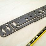 Placa galvanizado espesor 1.2 mm